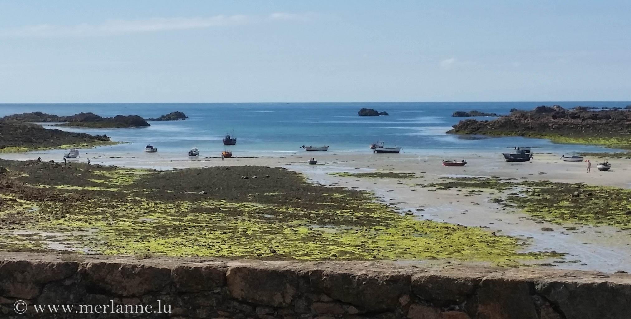 Perelle Bay bei Ebbe